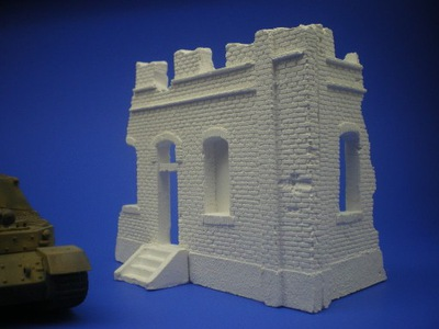 Разруха дома масштаб 1 :72