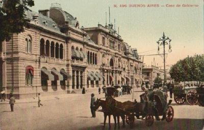 В БУЭНОС-АЙРЕСЕ. CASA DE GOBIERNO. 191-?