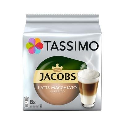 Tassimo ДЖЕЙКОБС Латте Макиато Классико, 8 штук