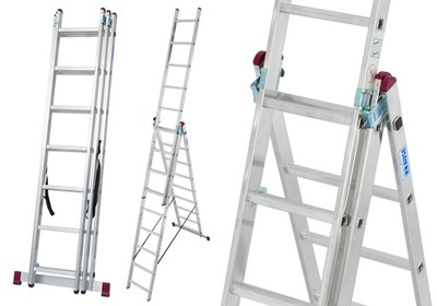 Лестница алюминиевая 3x8 Краузе CORDA 5 ,40м 030382