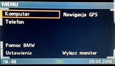 ПОЛЬСКОЕ МЕНЮ PL BMW X3 E83 X5 E53 E39 E46 E38 Z4