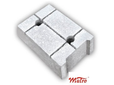 MAŁRUS блоки бетонные фундаментные 14 /24 /38см