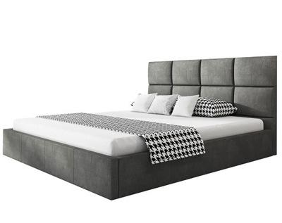 кровать обиты ROMA SLIM 140х200 Контейнер