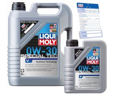 Olej Liqui Moly 0W30 6L Special Tec do VOLVO (5+1)