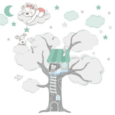 samolepka na stenu pre deti samolepky na stromček