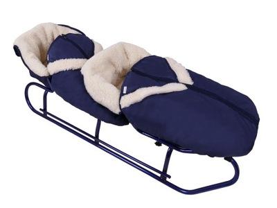 Sánky pre deti - Dvojlôžkové postele 2 dvojité spacie vaky so spacie vaky