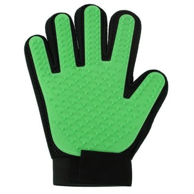 перчатка для WYCZESYWANIA ШЕРСТИ СОБАКИ КОШКИ МАССАЖ