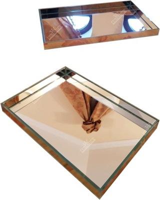 Лоток зеркальная серебряная 30x21x3 см