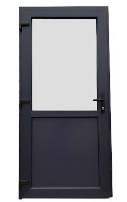 двери Внешние МАГАЗИНА ???, как Алюминиевый 75мм