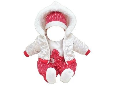 oblek pre DIEŤA hračka bábika BABY BORN bunda KLAUN 212