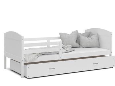 Detská posteľ bielej MATÚŠ P 200x90 biela