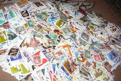 Polska Znaczki pocztowe 100 sztuk każdy inny