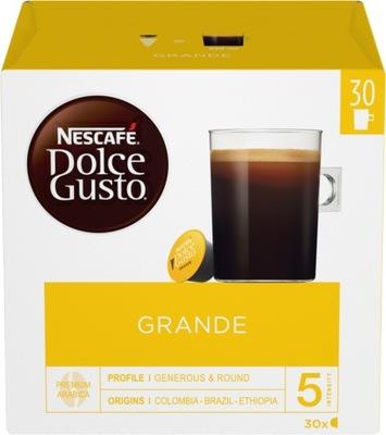 капсулы Nescafe Dolce Gusto Grande кофе 30 штук