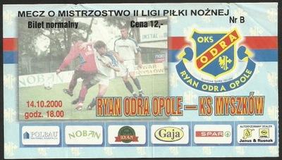 Pogoń Szczecin - Amica Wronki 25 11 2000