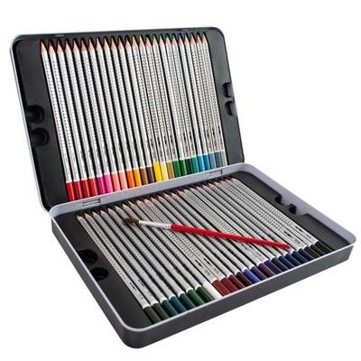 Akvarelové pastelky, trojuholníkové OKNO 48 farby+KEFA