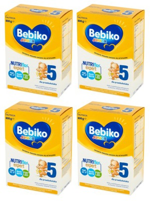 Mleko modyfikowane Bebiko Junior 5 Zestaw 4x800g