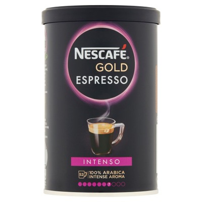 кофе Nescafe Gold Espresso Intenso 95g