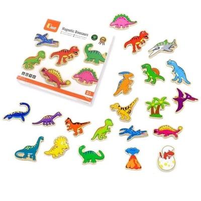 ВИГА ?????????? МАГНИТЫ НА ХОЛОДИЛЬНИК Динозавры 20 штук