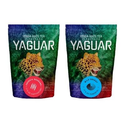 Yerba Mate Yaguar Энергия + Wild Energy 2x500g 1кг