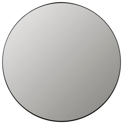 зеркало Круглые настенные Алюминий ср. 100см черные