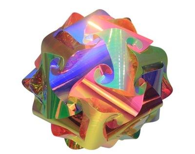 Праздничный шар Нарядная LED Многоцветная 15 СМ