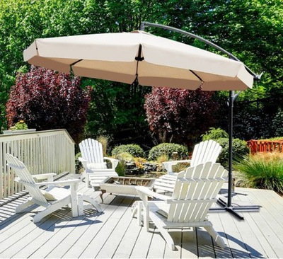 Зонт Садовый Складной Большой 350cm Мощный 3цвета доставка из Польши Allegro на русском