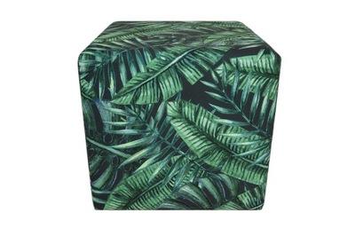 ??? кубик 40х40 листья монстера ботанический папоротник