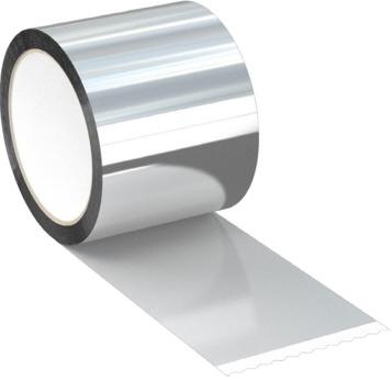 COROFLEX лента МЕТАЛЛИЗИРОВАННОЙ для ПАРОИЗОЛЯЦИИ 50 мм