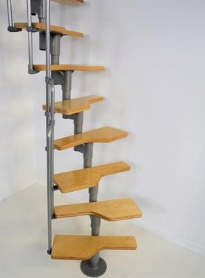 Лестница модульные ТОРНАДО для 248cm ступени Береза
