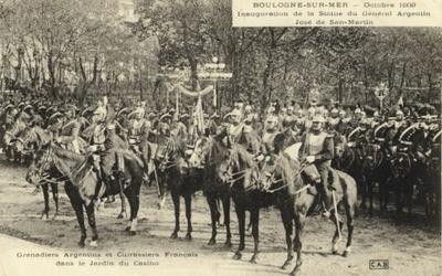 BOLOGNE-SUR-MER. OKTOBER 1909. INAUGURATION DE LA