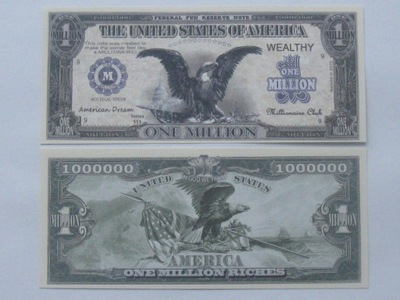 One Million Riches $$$ ??? American Dream Орел