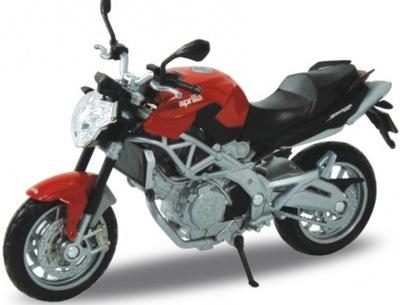 APRILIA Shiver 750 мотоцикл 1 :18 Welly металлический