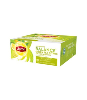 зеленый ??? Липтон Green Tea Citrus 100 конвертов