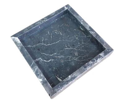 Taca marmurowa Nero Marquina czarna kamienna