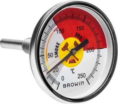 термометр для коптильне 250st передняя ось, двусторонне 101250