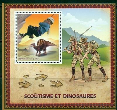 Скаутинг скаутинг скауты и динозавры ** #CON1581