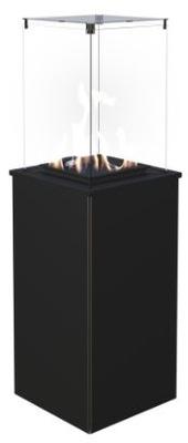 Plynový krb - plynový Ohrievač vody, TERASA ocele, ručné
