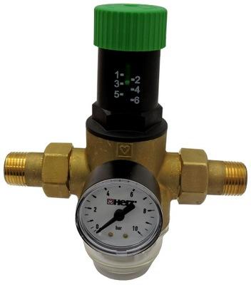 """Tlakový redukčný ventil 3/4"""" HERZ Filter"""