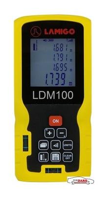 Laserový merač vzdialenosti LDM100 je 0.05-100m LAMIGO