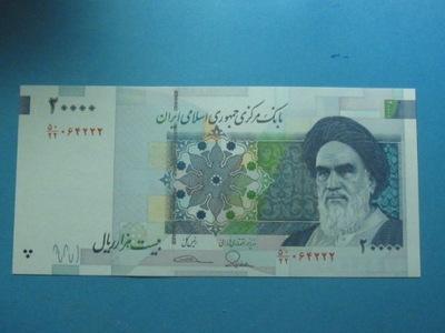 Иран Банкнота 20000 Rials P-153a UNC 2014