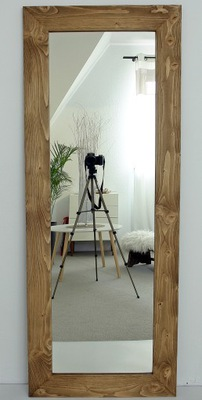 зеркало 170 x 70 натуральная Рама 10 Дерево чердак
