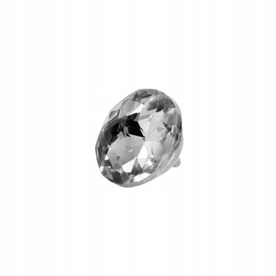 пуговицы обивки с кристаллом - 18 мм - 1шт
