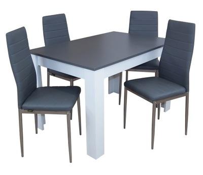 стулья с ekoskóry и стол раскладной МАЛЕНЬКИЙ комплект