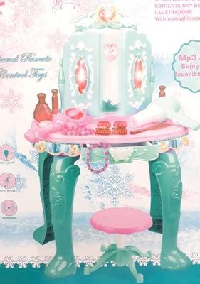 LT154 TOALETNÝ stolík PRE DETI OTVORÍ s čarovná PALIČKA ZRKADLO