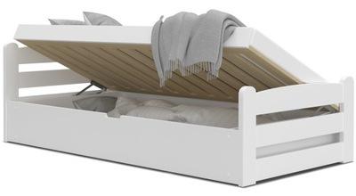 Łóżko DAWID 90x200 podnoszone automat + materac