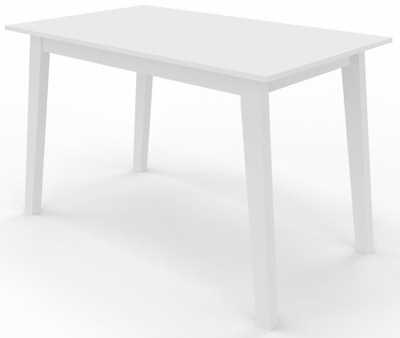 стол KALIX 120х80 Белый ноги lite Дерево