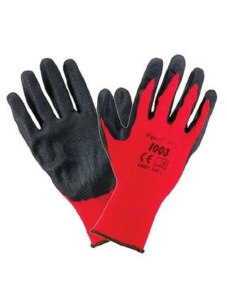 Rękawice robocze ochronne 10 par!! LATEX