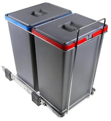 Сортировщик на мусор ECOFIL PF01 44B2 2 ведра