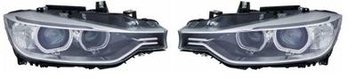 REFLEKTORY LAMPY BMW 3 F30 F31 LEWA+PRAWA XENON