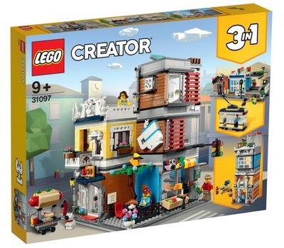 LEGO CREATOR pet shop a kaviareň 31097